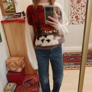 Vintage Susie Lee Handmade Knit Sweater S-L